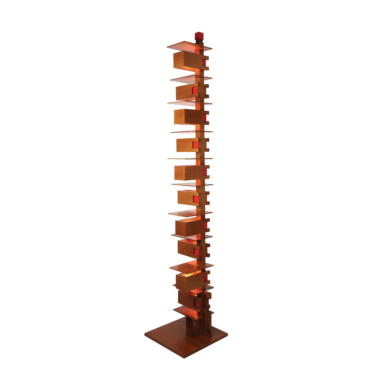 Taliesin 2 Floor Lamp Cherry Ala Moderna Touch Of