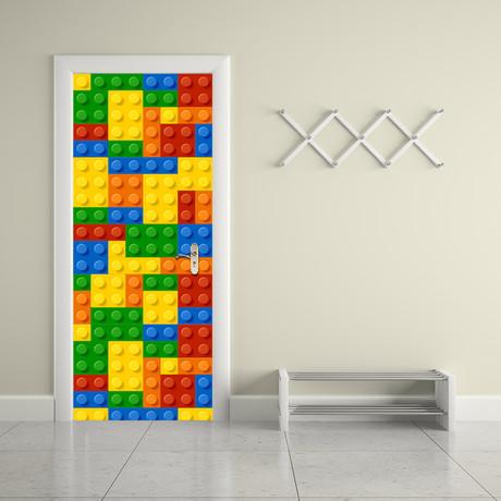 Building Blocks // Door Mural