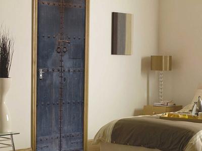 Photo of Walplus Self Adhesive Door Murals Dungeon // Door Mural by Touch Of Modern