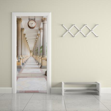 Columns // Door Mural