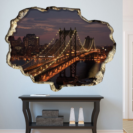 Manhattan Night // Wall Sticker