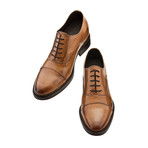 Beverly Hills Cap-Toe Oxford Shoes // Brown (US: 9.5)