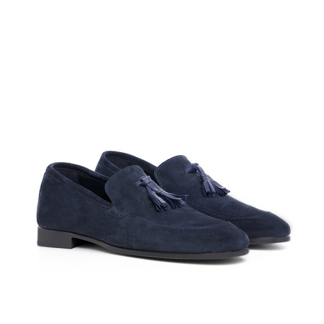 Borgo Egnazia Tassel Loafer // Navy (US: 7)