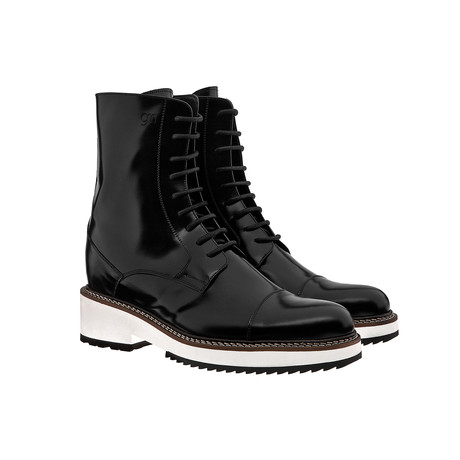 Nevada Polished Cap-Toe Boot // Black (US: 7)