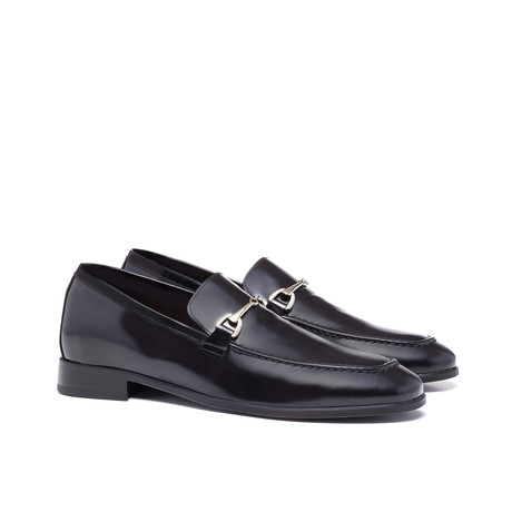Toulouse Buckle Loafers // Black (US: 7)