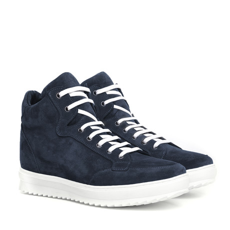 Wyoming Suede High-Top Sneaker // Navy (US: 7)