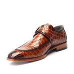 William Croc Embossed Single Monk // Tobacco (Euro: 42)