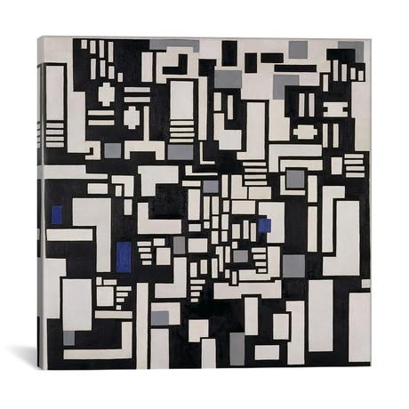 "Composition IX, opus 18, 1917 // Theo Van Doesburg (12""W x 12""H x 0.75""D)"