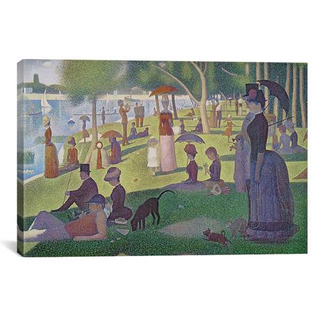 Sunday Afternoon on the Island of La Grande Jatte // Georges Seurat // 1884