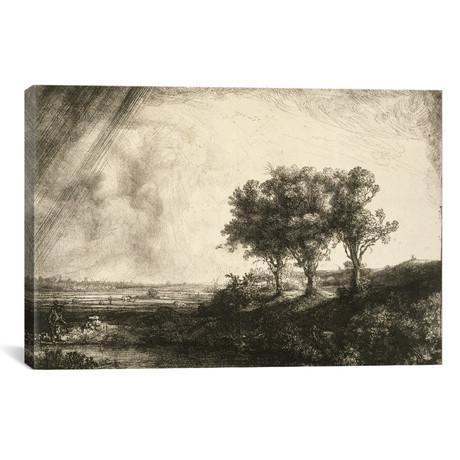 The Three Trees // Rembrandt van Rijn // 1643