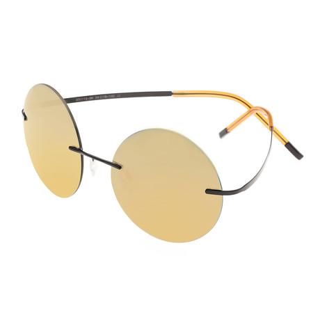 Christian Polarized Sunglasses (Black Frame + Gold Lens)