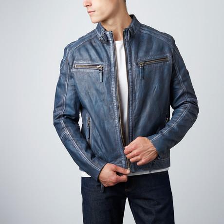 Cleveland Moto Jacket // Blue Wash