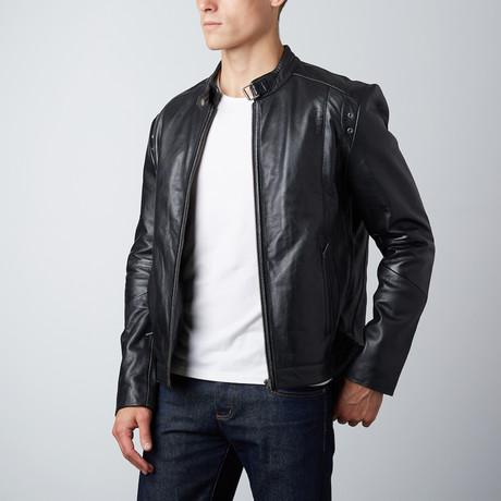 McHenry Leather Jacket // Black