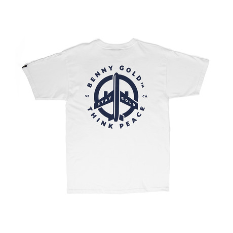 Peace T-Shirt // White