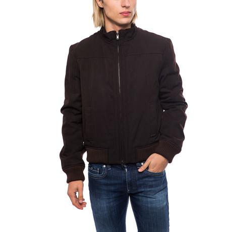 Zip-Up Jacket // Brown