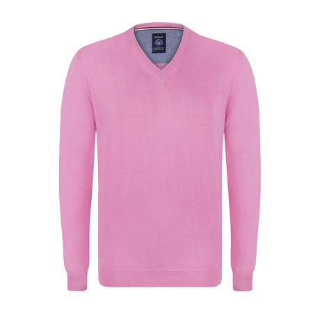 Camp V-Neck Pullover // Pink (S)