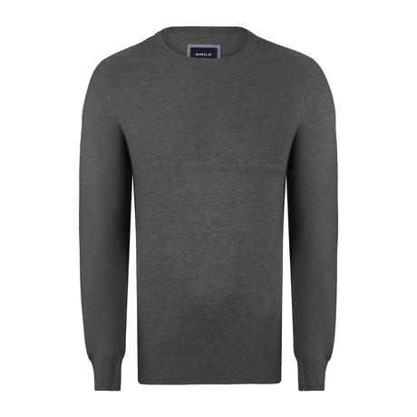 Navassa Ricecorn Round Neck Pullover // Khaki (S)