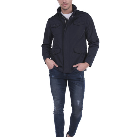 San Luis Safari Jacket // Navy (S)