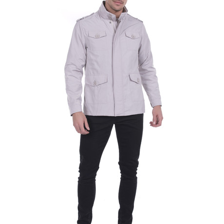 San Luis Safari Jacket // Stone (S)