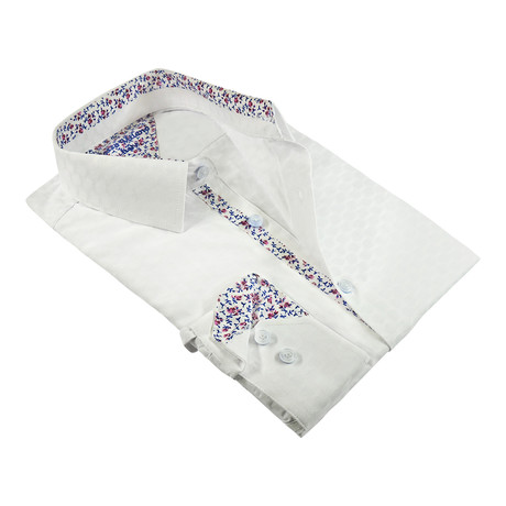 Luminescent Button-Up Shirt // White (M)