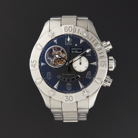 Zenith Defy Classic Open Automatic // 03.0526.4021/21.M526 // Pre-Owned