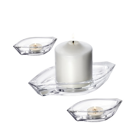 Wave Votive // 3 Piece Set