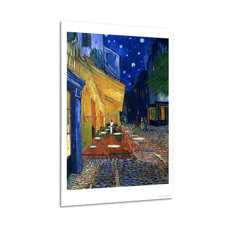 The Cafe Terrace on the Place du Forum, Arles, at Night // Vincent van Gogh // 1888