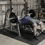 Maxx Olympic Flat Bench + Rack
