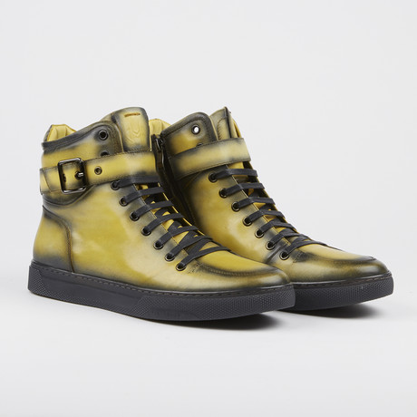 Sullivan High-Top Sneaker // Yellow (US: 7)