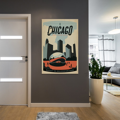 Chicago, Illinois (Cloud Gate Sculpture)