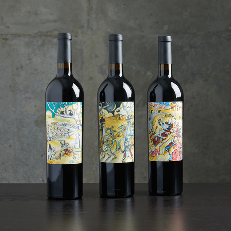 Ghost Winery Napa Red Blend from Flora Springs // 3 Bottles