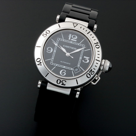 Cartier Pasha Automatic // W3107U // Pre-Owned