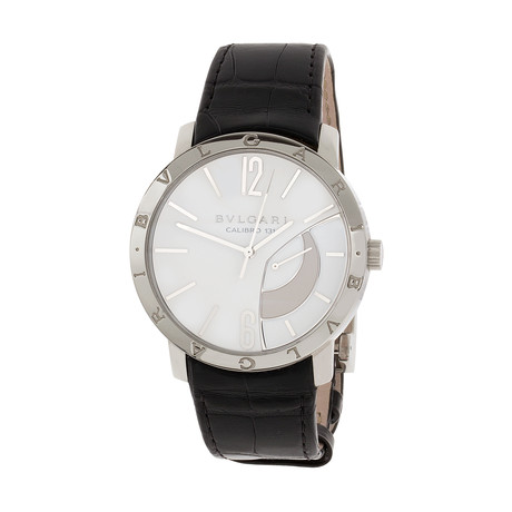 Bvlgari BB Collection Power Reserve Manual Wind // BB43WSL // Store Display