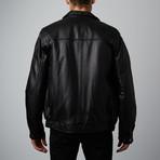 Mason + Cooper // Walden Leather Bomber // Black (S)