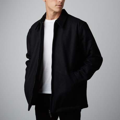 Wilda // Evan Wool Jacket // Black (S)