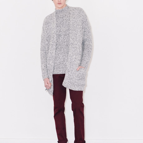 Knitted Cardigan // Pristine