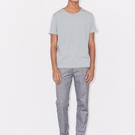 Contrast Stripe T-Shirt // Jade