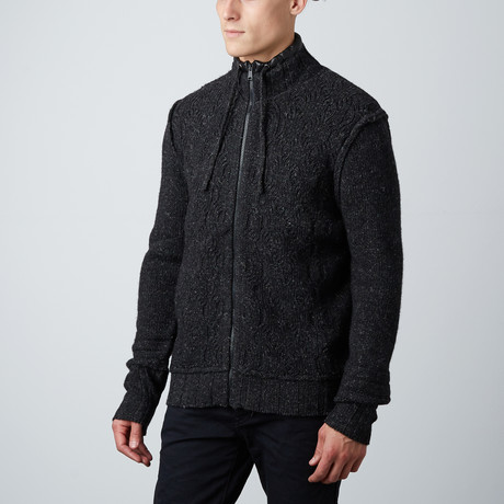High Country Cardigan // Black (S)