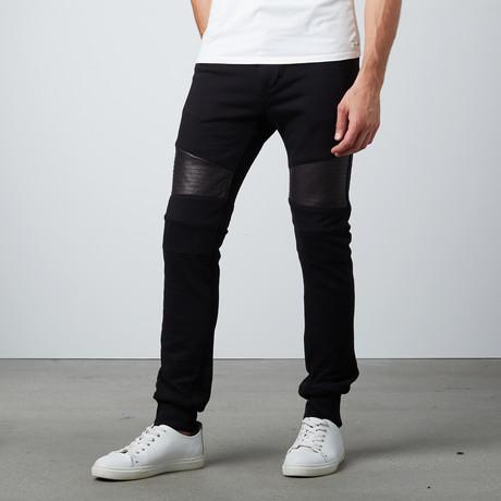 Moto Jogger Pant // Black (S)
