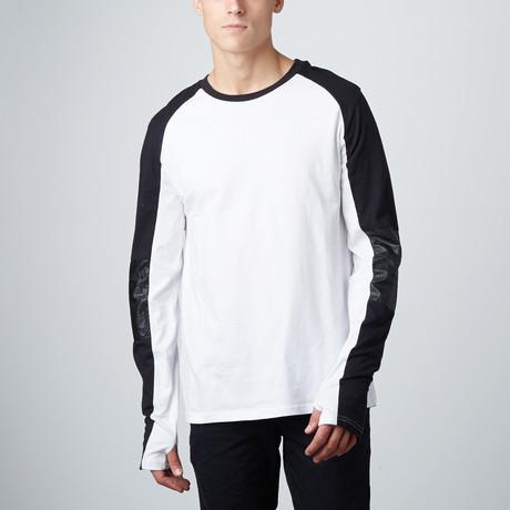 Motocross T-Shirt // Black + White (S)