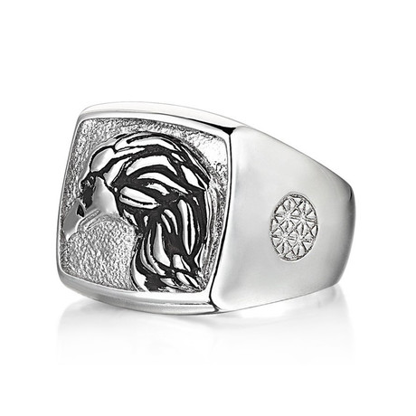Eagle Ring // Solid Silver