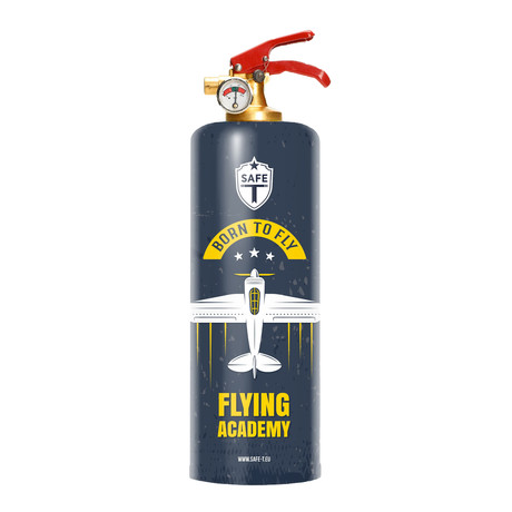 Safe-T Designer Fire Extinguisher // Flying Academy