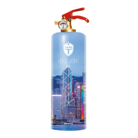 Safe-T Designer Fire Extinguisher // Hong Kong