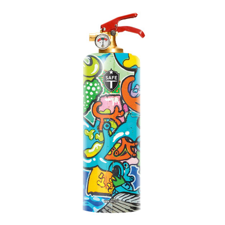 Safe-T Designer Fire Extinguisher // Pop Street