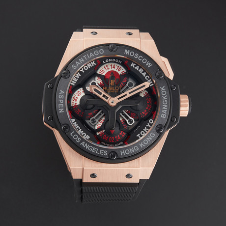 Hublot Big Bang Power Unico GMT King Automatic // 771.OM.1170.RX // Store Display