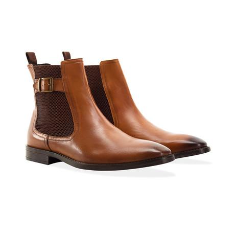 Buckle Chelsea Boot // Tan (UK: 7)
