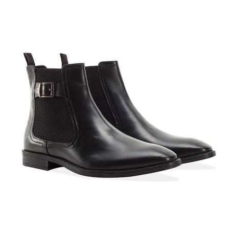 Buckle Chelsea Boot // Black (UK: 7)
