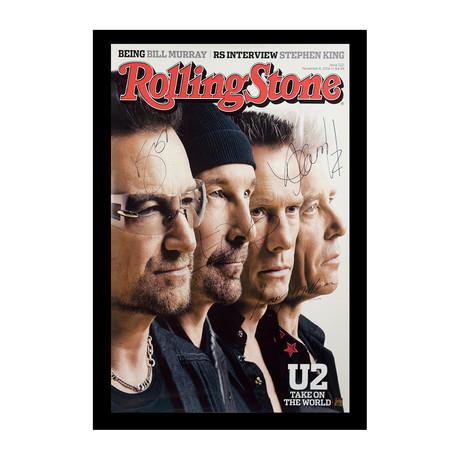 Framed + Signed Poster // U2