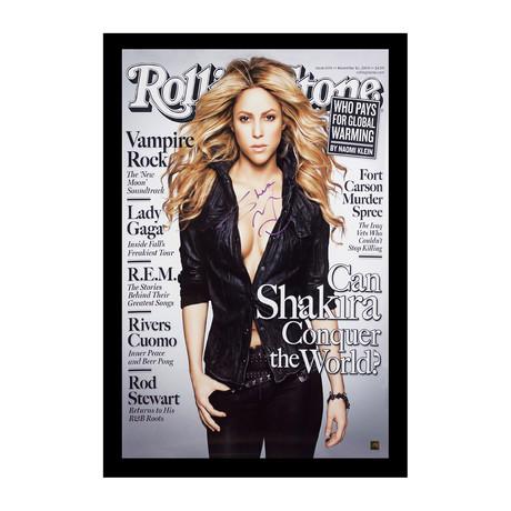 Framed + Signed Poster // Shakira