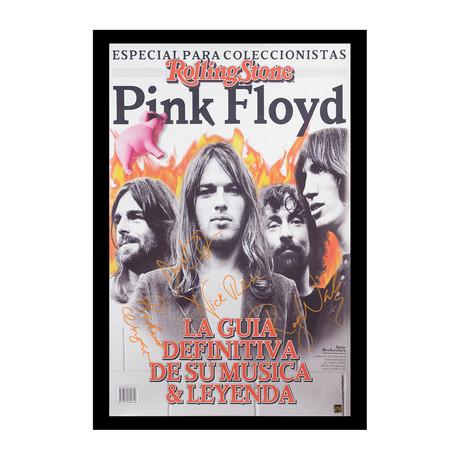 Framed + Signed Poster // Pink Floyd